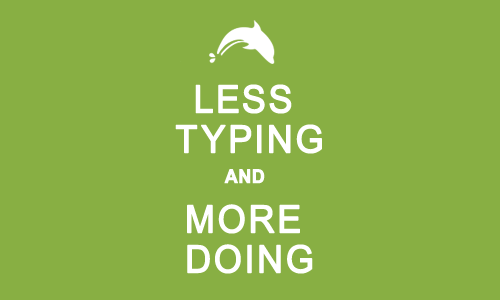 Less-typing-